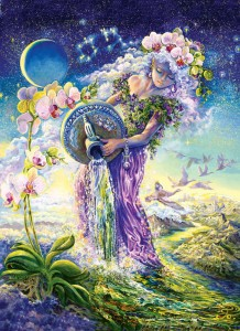 Aquarius - By Josephine Wall